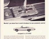 1967 Pontiac GTO  -  Rare Hurst Muscle Car Ad