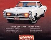 1967 Pontiac GTO  -  Rare Muscle Car Ad