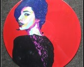 Insatiate--Upcycled Vinyl Record