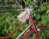 Bicycle Top Tube Wristlet - Leopard
