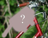 Bicycle Top Tube Wristlet - CUSTOM