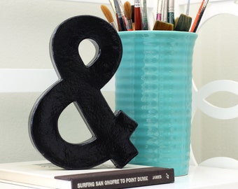 "Ampersand ""&""  and sign 8 inches Tall"