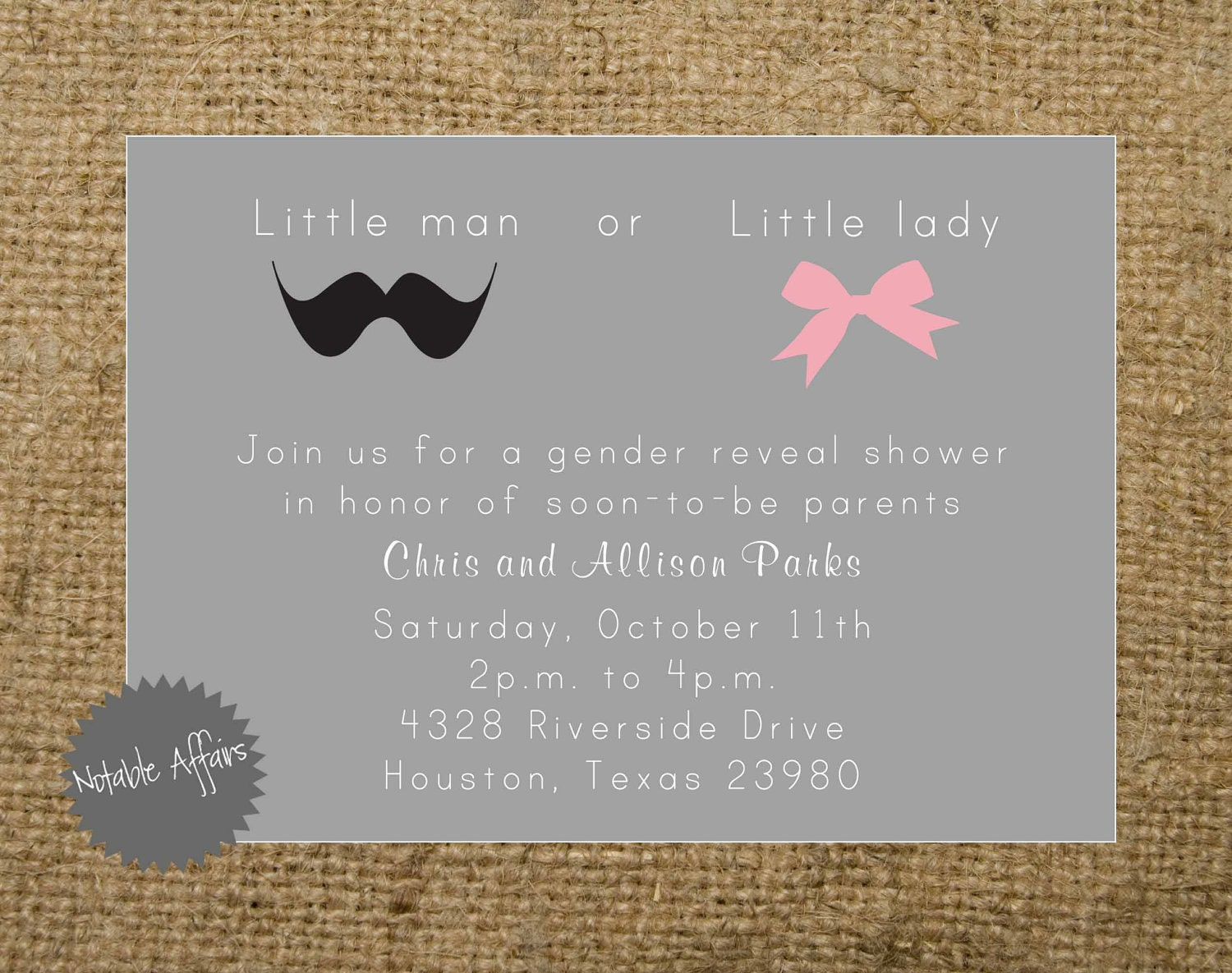 Wording For Gender Reveal Invitations was awesome invitations template