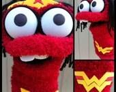Superhero Sock Puppet