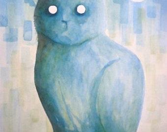 Cat eyes of moon