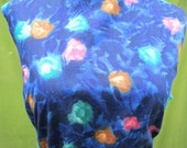 Vintage 60s dress  Gallant California sheath cotton print wiggle dress