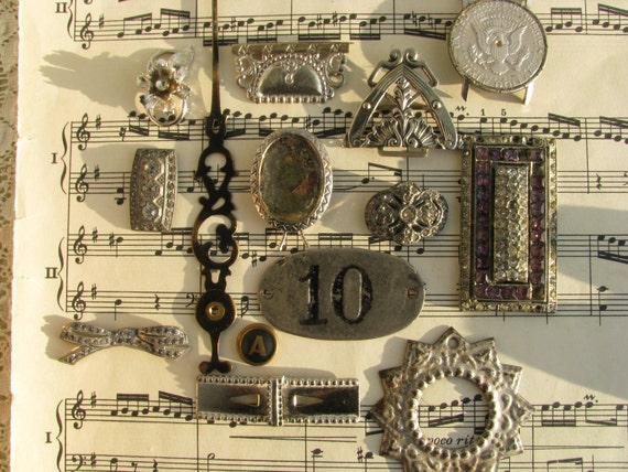 Antique and Vintage Steampunk Jewelry and Art Supplies