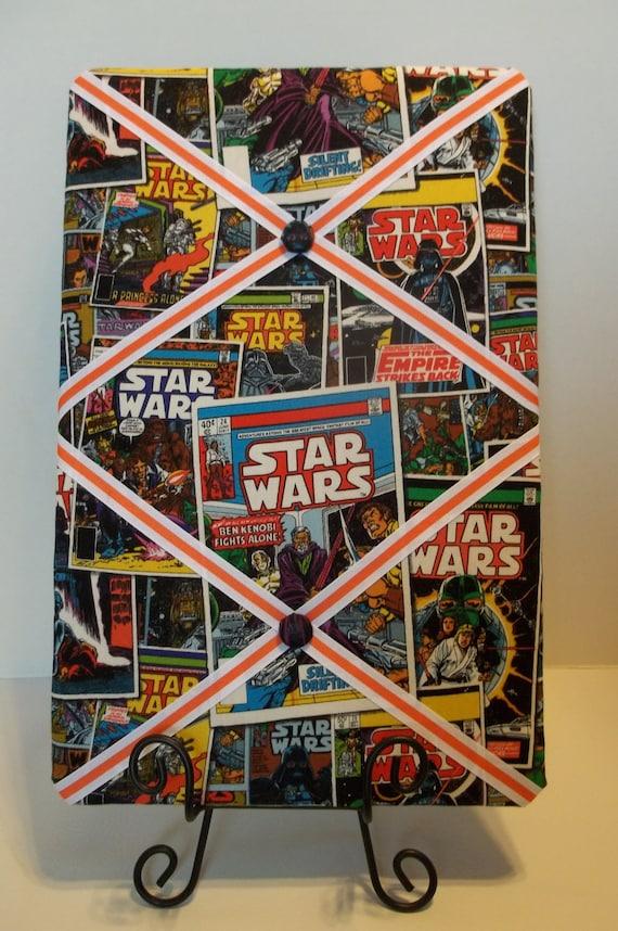 Star Wars Retro-Style Comic Book Covers French Memo Corkboard