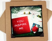 I Love You Card for Artist  - You Inspire Me