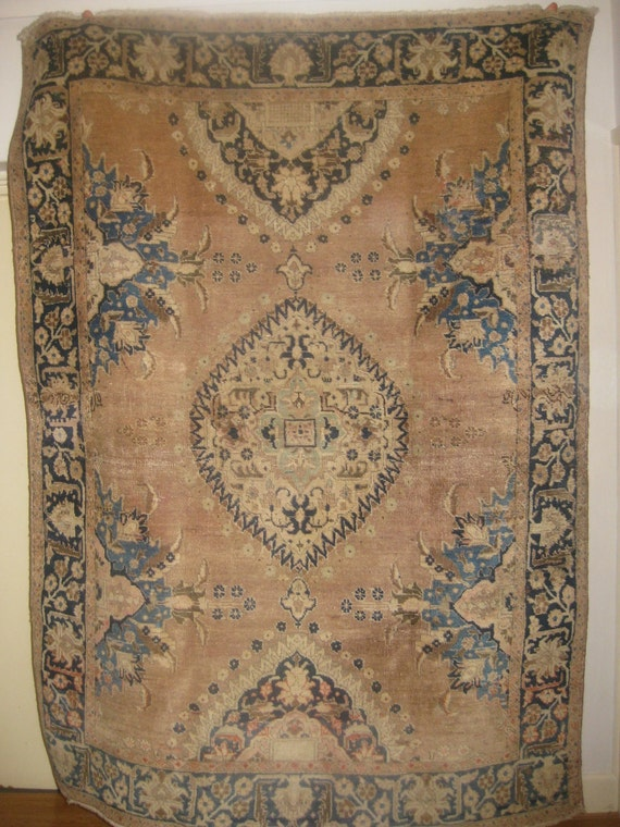 Beautiful Antique Persian Handmade Khoy rug