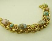 Marbled Cabochon PASTEL Retro Bracelet