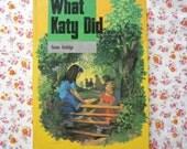 Vintage What Katy Did Book Susan Coolidge