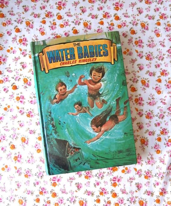 Vintage Water Babies book Charles Kingsley