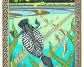 Summer Celtic Art Print