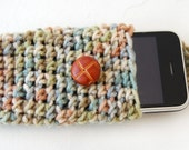 Spring Crochet iPhone Case