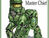 My Little Bad Ass Master Chief