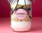 Cookie Mixes in a Mason Jar