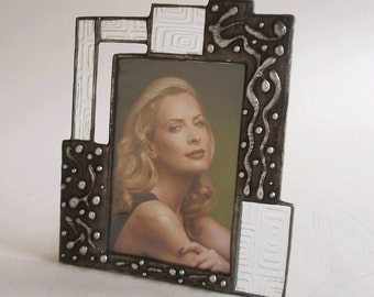 4 X 6 picture frame - one of a kind - vertical