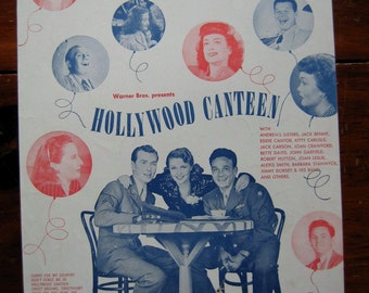 """Vintage Sheet Music """"Don't Fence Me In"""" From """"Hollywood Canteen"""" 1944"""