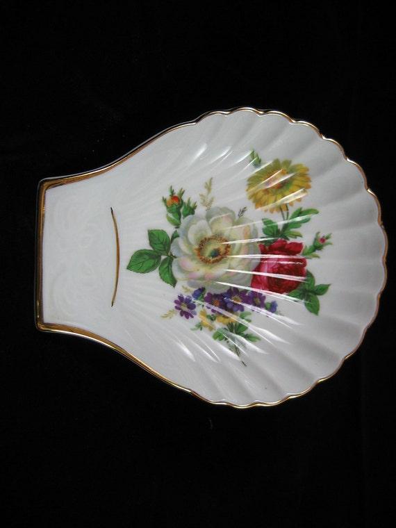 vintage shell dish bavaria germany porcelain kuba porzellan. Black Bedroom Furniture Sets. Home Design Ideas