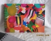 "PHOTO ALBUM / GUESTBOOK - ""Licorice Allsorts & Lollies"" - A5 Size"