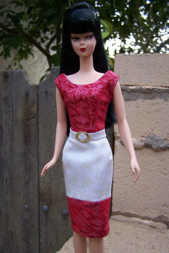 OOAK sheath dress for Silkstone Barbie