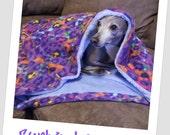 Nap Sak (blanket, sleeping bag, italian greyhound)