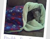 Nap Sak (sleeping bag, blanket, italian greyhound)