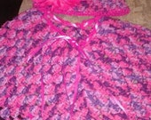 Infant/Baby Poncho and hat set