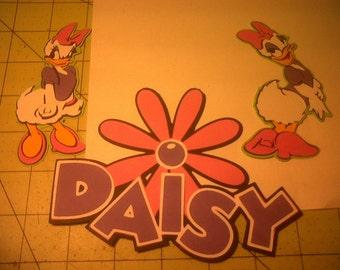 Daisy Duck Die Cuts