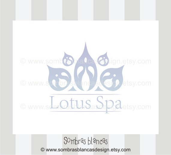 OOAK Premade Logo Design - Lotus Spa