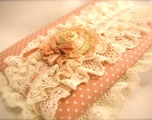 Ruffles and Flourishes - Pink Vintage Phone/Address Book