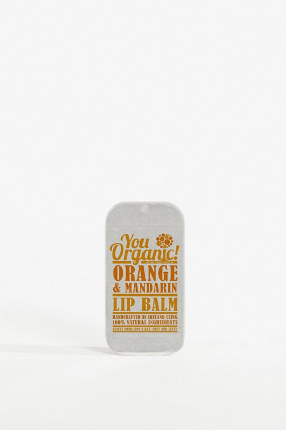 Orange and Mandarin Lip Balm