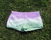 Mermaid Mash Plus Size Shorts