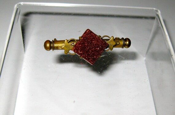 Exquisite Nanny Brooch with Sewing Tools Insert