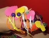 Summer Rubber Bracelets - SET of 4 pieces