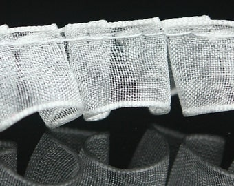 B-047  / 1 yard of  Lace / Color : White