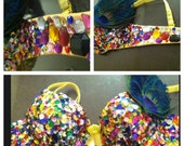 Rave bra- SEQUENCE PEACOCK