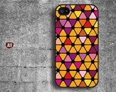 IPhone 5 case Case for black Hard case Rubber case iphone 4 case iphone 4s case New  colorized yellow style graphic design printing