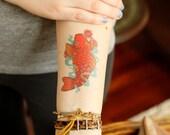 Koi Temporary Tattoo for Charity