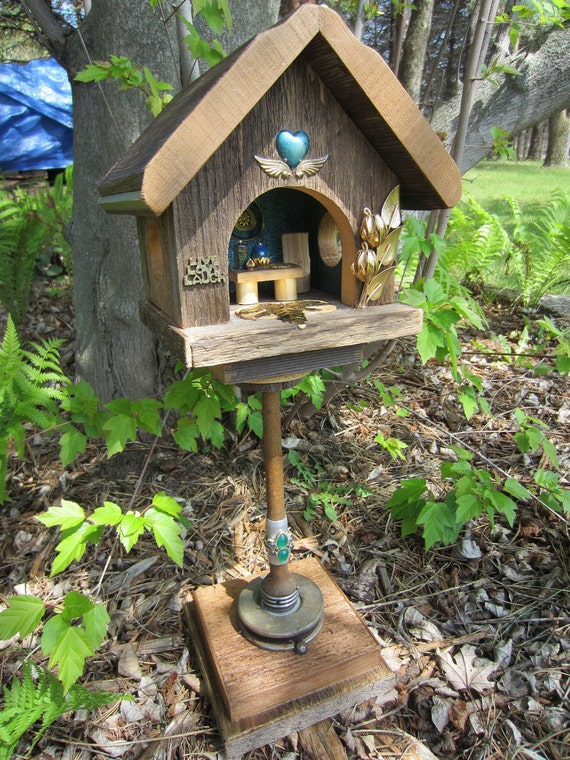 Garden Art Fairy house