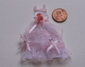 Miniature Dresses for your Dollhouse