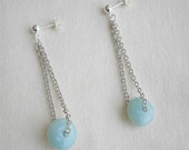 Amazonite Dangles Earrings