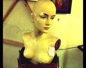 1950's female mannequin head