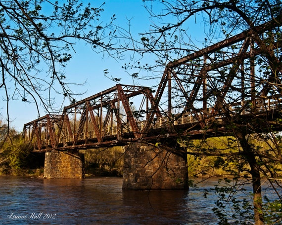 Civil War Train Trestle