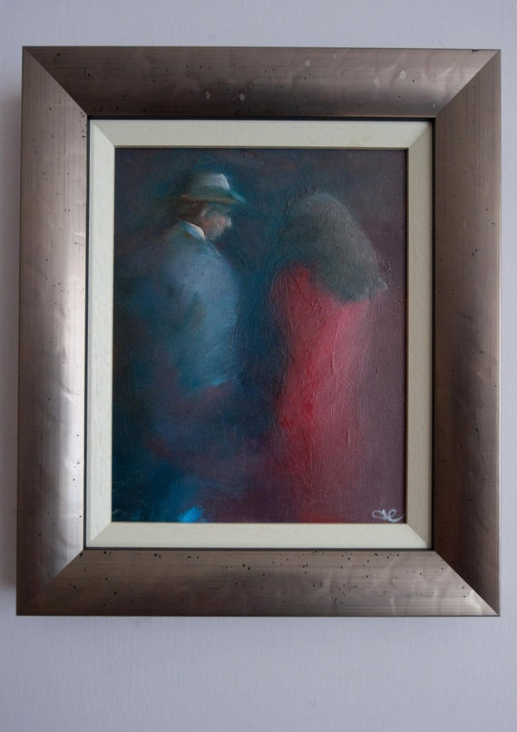 Fine Art Image of a Couple, Bella Coppia by Newcastle Artist AJ Edgar