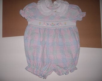 vintage girls sunsuit