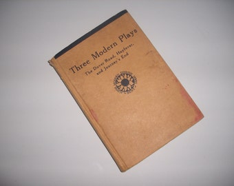 Three Modern Plays 1947 hardcover book