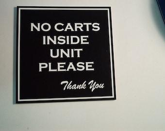 Acrylic Sign 8x8