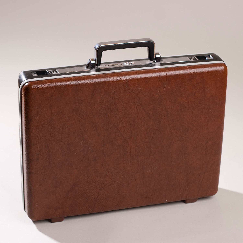 Vintage Samsonite Hardside Briefcase Combination Lock